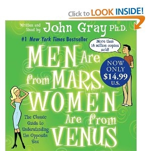 Men Are From Mars… understanding the opposite sex